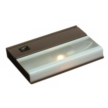 "7"" Wide Bronze Finish  Xenon Under Cabinet Light"
