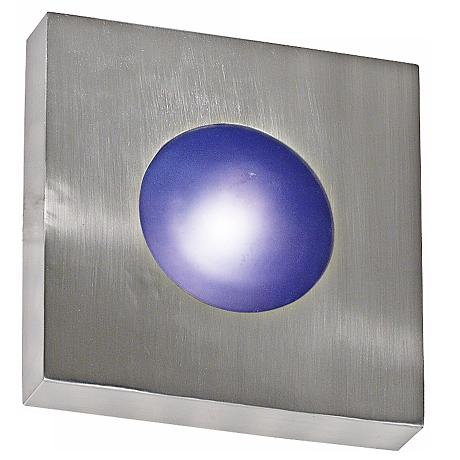 "Burst Aluminum 10"" Square Outdoor Ceiling or Wall Light"