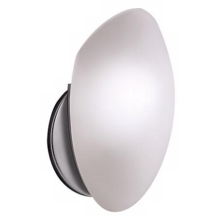 Brushed Nickel Finish ADA Compliant Wall Sconce