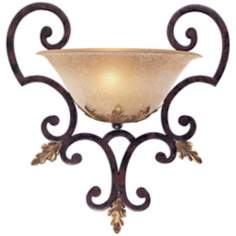 "Metropolitan Zaragoza 17 3/4"" High Wall Sconce"