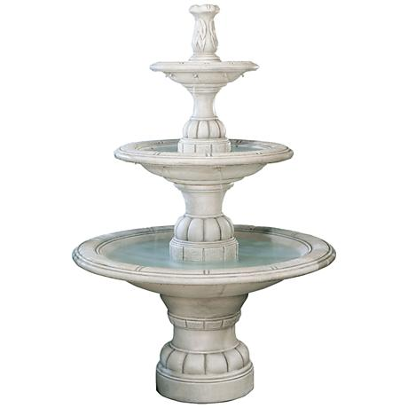 Henri Studio Large 3-Tier Transitional Fountain