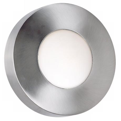 "Burst Aluminum 8"" High Round Outdoor Wall or  Ceiling Light"