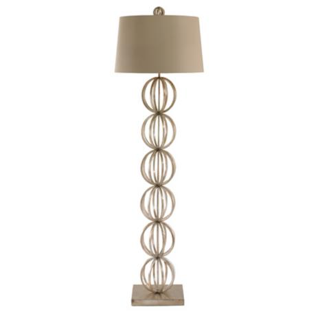 Arteriors Home Silver Open Globe Floor Lamp