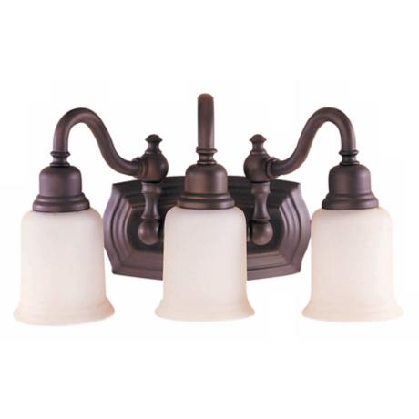"Canterbury Collection 19"" Wide Bathroom Light Fixture"