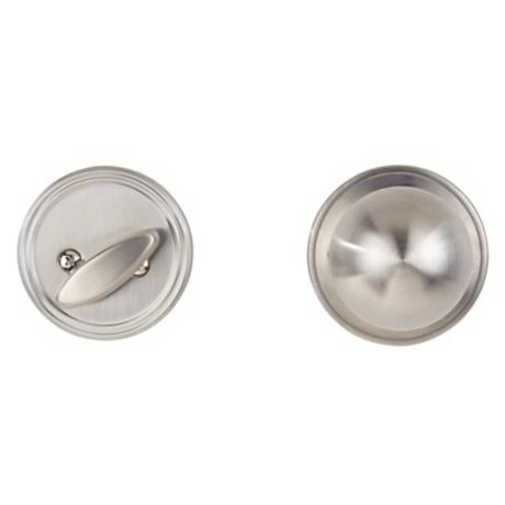 Corona Inside Stainless Steel Deadbolt Door Knob Set