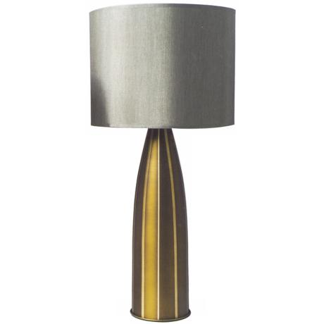 Babette Holland Large Val Striped Table Lamp