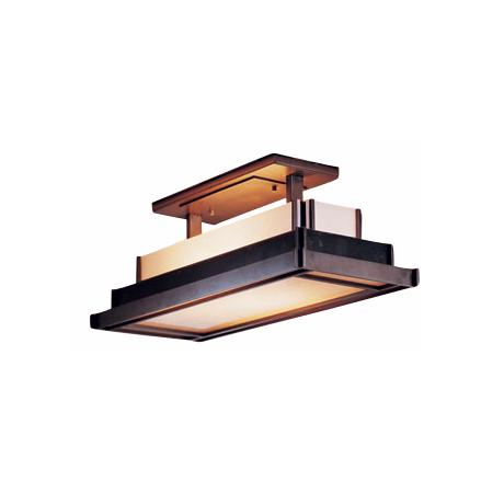 "Hubbardton Forge Steppe 21 1/2"" Wide Ceiling Light Fixture"
