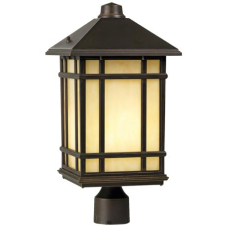 "Jardin du Jour 18"" High Mission Hills Outdoor Post Light"