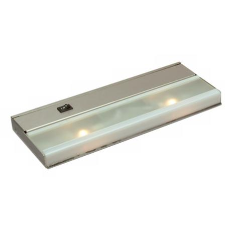 Kichler Two Light Stainless Steel Undercabinet Light