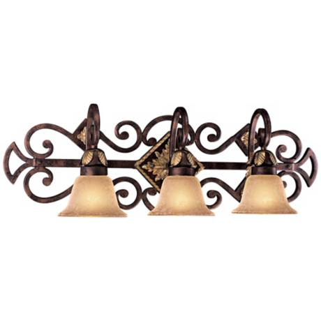 "Metropolitan Zaragoza 32"" Wide Bathroom Wall Light"