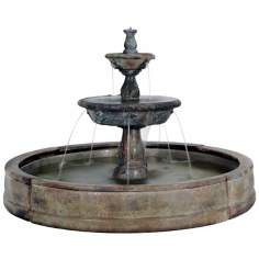 Small  Tazza in Valencia Fountain