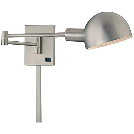 george kovacs contemporary p3 plug in swing arm wall lamp