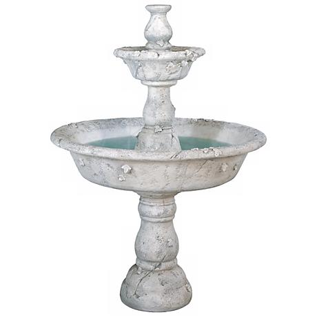 Henri Studio Tazza Large 2-Tier Fountain