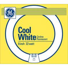 "GE Cool White 22 Watt / 8"" Circline Fluorescent"