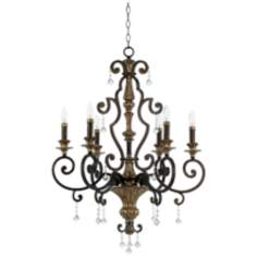 Marquette Collection Six Light Chandelier