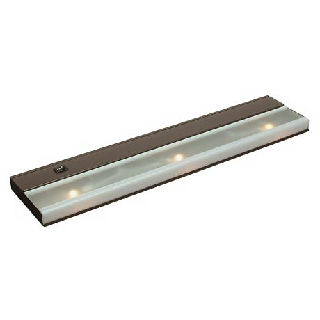 "21 1/2"" Wide Bronze Finish Xenon Under Cabinet Light"