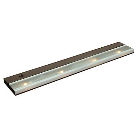 "30"" Wide Bronze Finish Xenon Under Cabinet Light"
