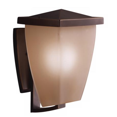 "Benton Collection 14 1/2"" High Bronze Outdoor Wall Light"