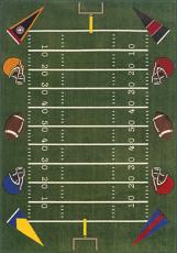 Football Sports Field Area Rug