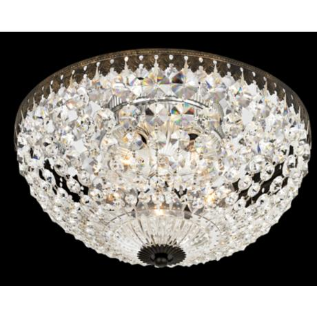 "Empire Spectra Crystal 12"" Wide Ceiling Light Fixture"