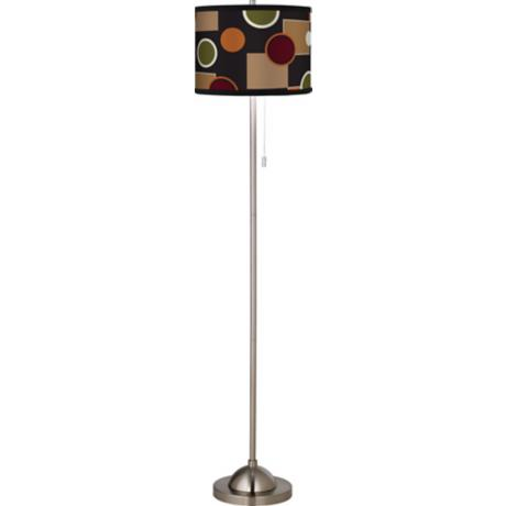 Retro Medley Giclee Floor Lamp