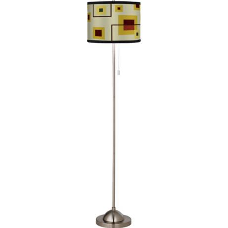 Windows Giclee Floor Lamp