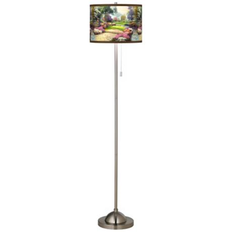 Thomas Kinkade Living Waters Golfer's Paradise Floor Lamp