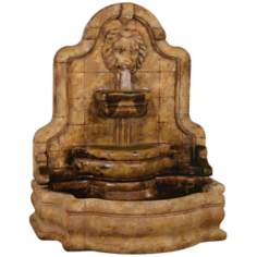 Lion Face Terrazo Bella Fountain