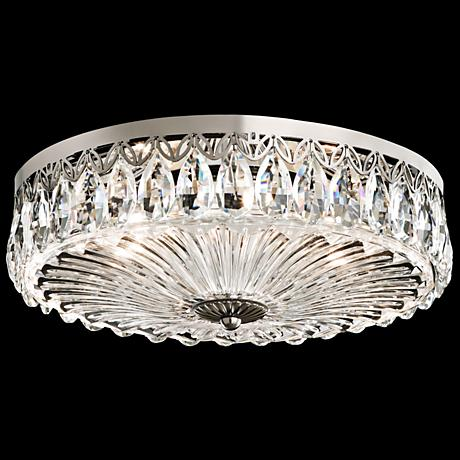 Possini Euro Design Geneva 16 Quot Wide Crystal Ceiling Light