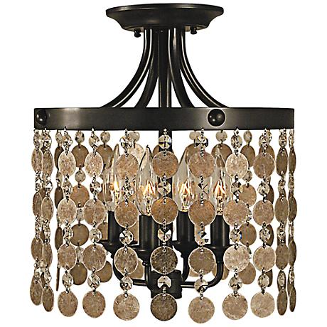 "Naomi Collection 12"" Wide Ceiling Light by Framburg"
