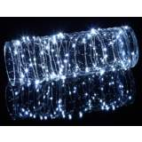 Dew Drop Plug-In 100-LED Cool White String Light Strand