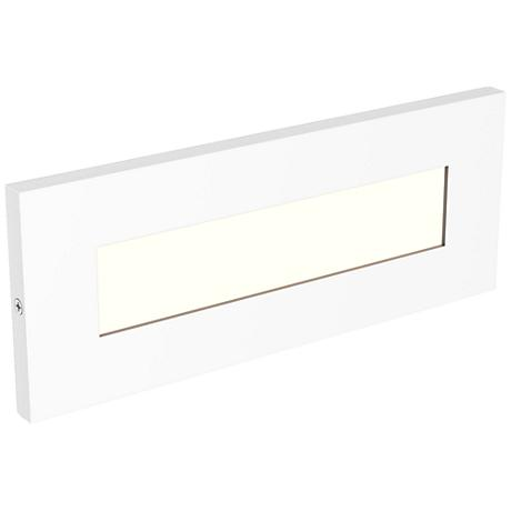 "LBL Lighting Vitra 8 1/2"" Wide White LED Step Light"