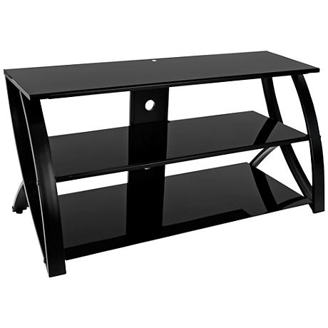 Calico Designs Futura Advanced Black TV Stand