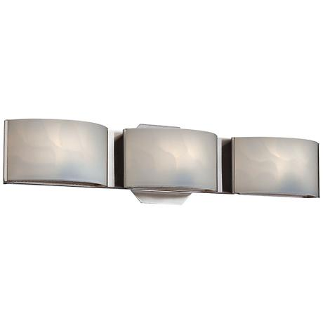 "Eurofase Dakota 20"" Wide Chrome 3-Light LED Bath Light"