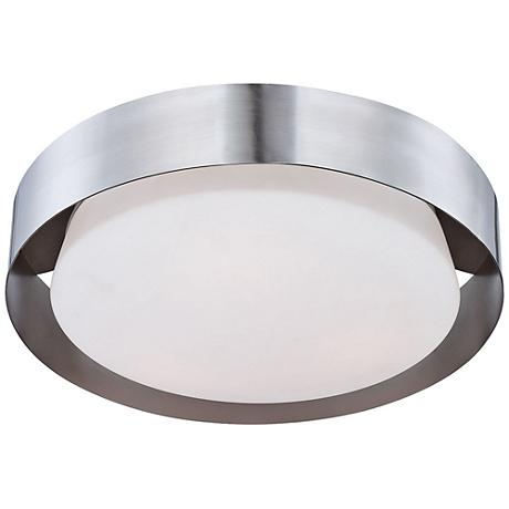 "Eurofase Saturn 15 1/2"" Wide Satin Nickel LED Ceiling Light"