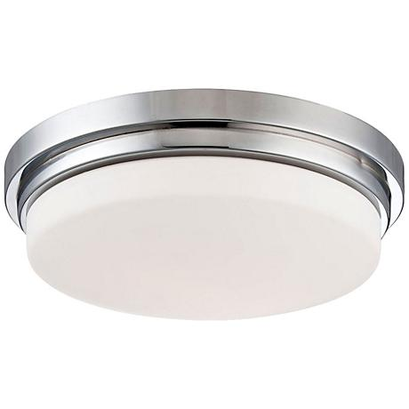"Eurofase Wilson 12 3/4"" Wide Chrome LED Ceiling Light"