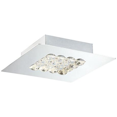 "Eurofase Denso 7 3/4"" Wide Chrome 1-Light LED Ceiling Light"