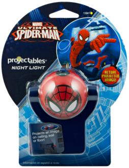 Projectable Marvel Spiderman LED Night Light (9G200) 9G200
