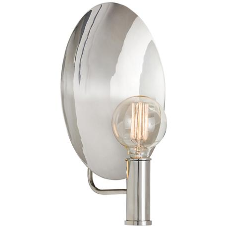 "Arteriors Home Lorita 15"" High Polished Nickel Wall Sconce"