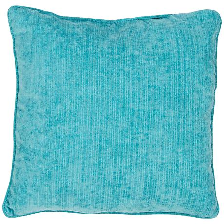 "Jaipur Veranda Baltic Blue 20"" Square Throw Pillow"