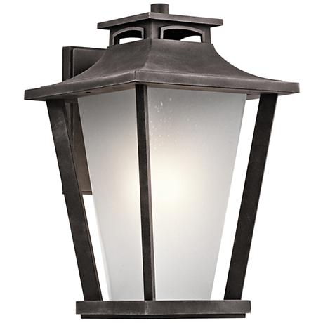"Kichler Sumner Court 18 1/4"" High Zinc Outdoor Wall Light"
