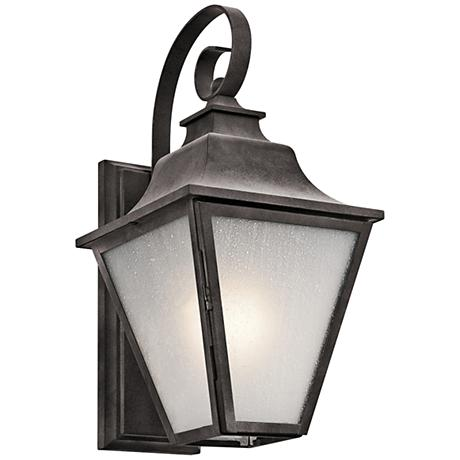 "Kichler Northview 17 1/4"" High Zinc Outdoor Wall Light"