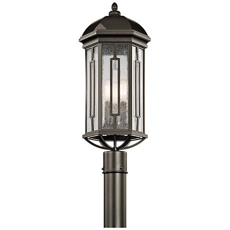 "Kichler Galemore 23"" High Olde Bronze Outdoor Post Light"