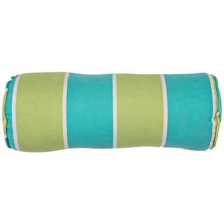 "Jaipur Veranda Green-Blue 20""x7"" Outdoor Pillow"