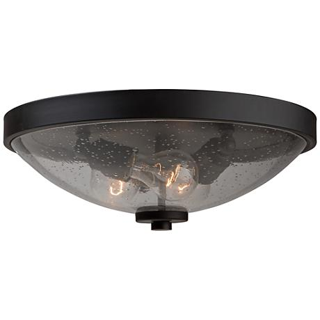 "Artcraft San Antonio 15""W Java Brown 3-Light Ceiling Light"
