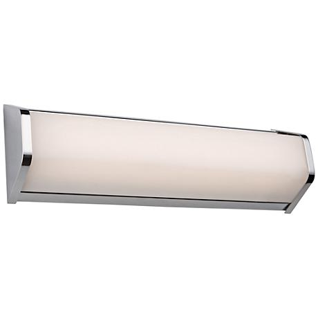 "Artcraft Crosby 18"" Wide Chrome LED Bath Light"
