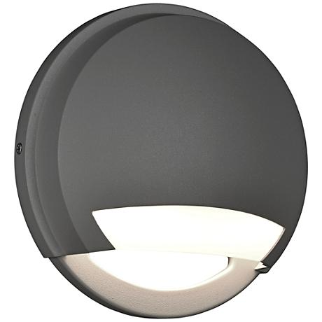 "Avante 8 1/2"" High Satin LED Outdoor Wall Light"