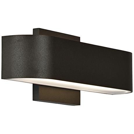 "Montreal 2 1/2"" High Bronze 2-Light LED Outdoor Wall Light"