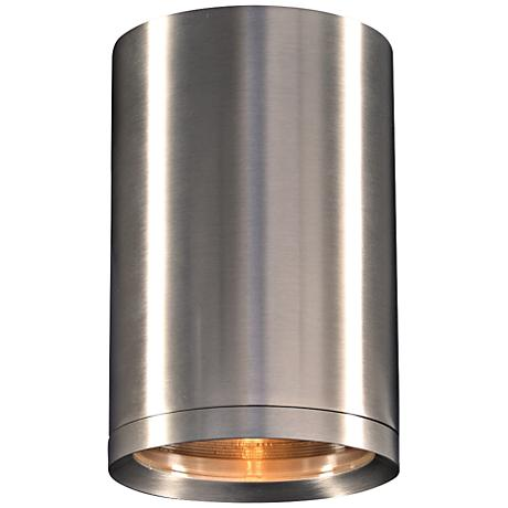 "Marco 5"" Wide Brushed Aluminum LED Outdoor Ceiling Light"