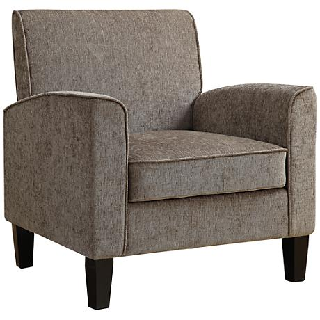Collinswood Classic Textured Dark Taupe Armchair